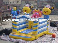 used commerical playground equipment inflatable combo  تامین کننده