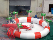 Sea Animals Theme Water Park Kids Inflatable Pool for Homeusing  تامین کننده