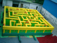 Inflatable Maze Games, Inflatable Tunnel Maze Game For Adults تامین کننده