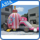 Inflatable Princess Bounce House for Girl Birthday Party تامین کننده