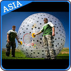 Inflatable Color Dots Aqua Zorbing Ball Played On Grassland / Water تامین کننده