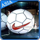 Football Helium Balloon And Blimps , Soccer Advertising Ball Inflatable Sports تامین کننده
