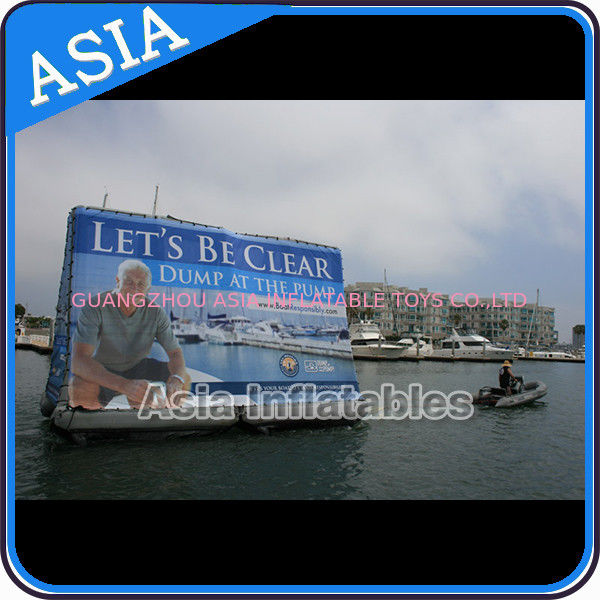 Inflatable Billboard For Publicity ,  Advertising Inflatables Screen Banner تامین کننده