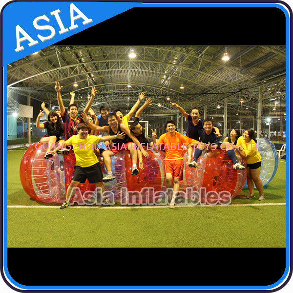 Hot colour inflatable bubble soccer , Kids inflatable bubble football , Human loopy ball تامین کننده