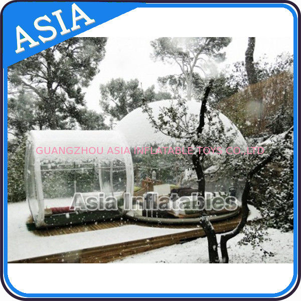 Waterproof Inflatable Snow Globe For Advertisement With Fake Snow تامین کننده