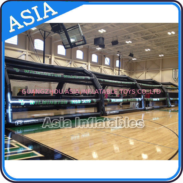 Combined Batting Cage Inflatable Event Tent For Practice At Sports GYM