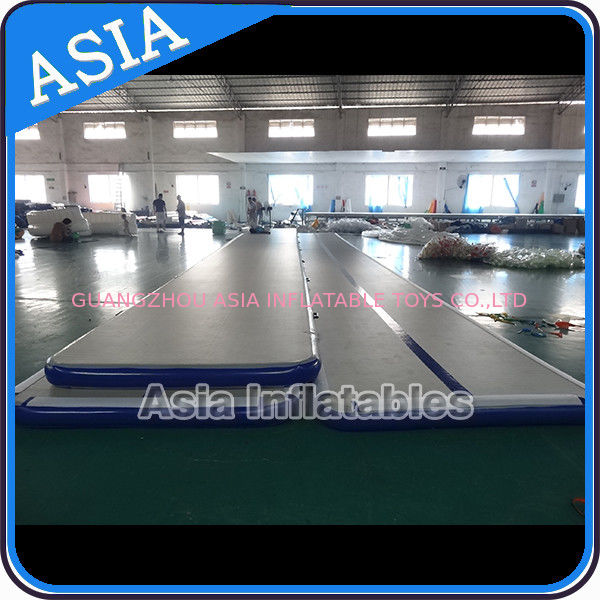 Dwf Material Custom Inflatable Gym Air Mat Used For Dancing تامین کننده