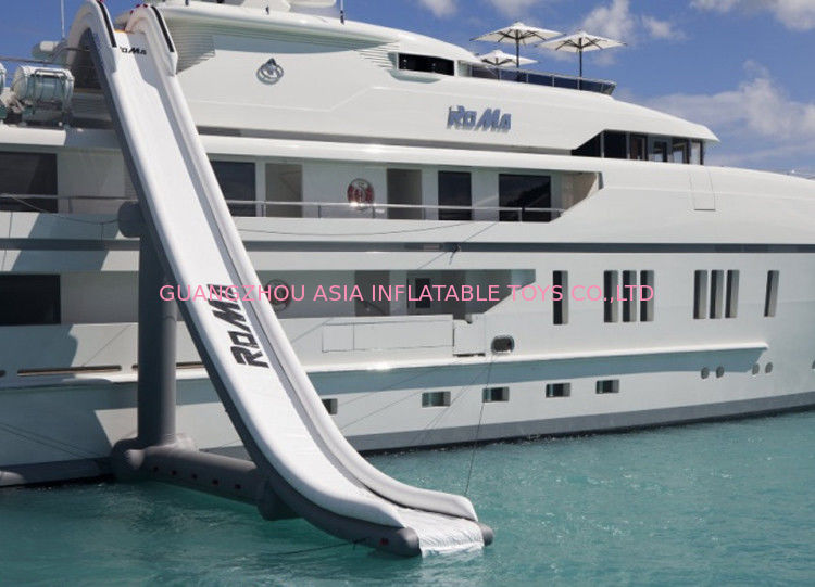 Customized Inflatable Water Sports, Inflatable Water Slide For Yacht Ship تامین کننده