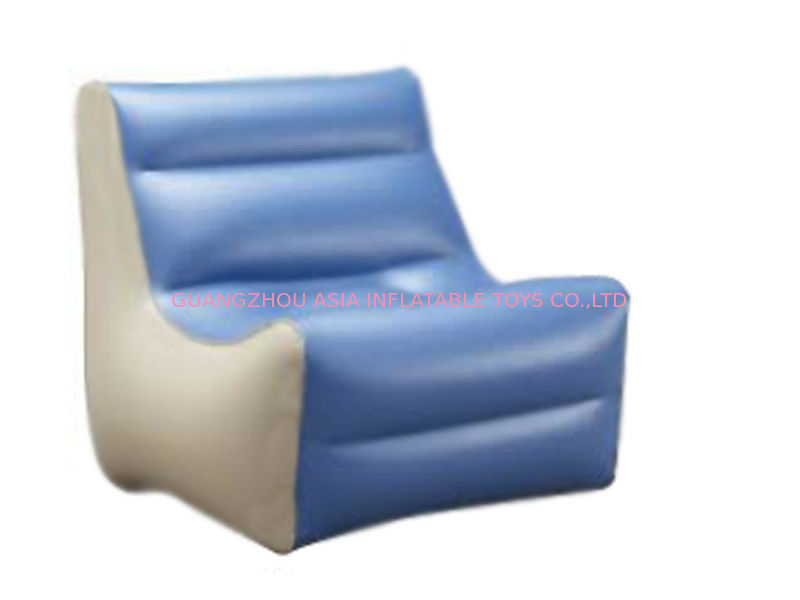 High Quality Inflatable Couch Sofa With 0.6mm Pvc Tarpaulin For 2 To 3 People تامین کننده