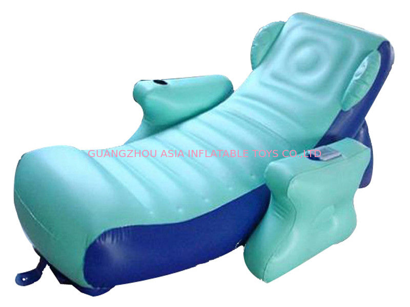 Eco-friendly PVC Inflatable Water Sofa Bed , Advertising Inflatable Floating Sofa تامین کننده