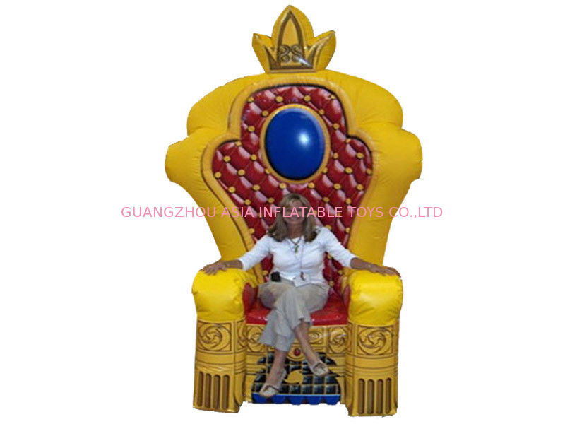 Advertising Inflatable King Chair تامین کننده