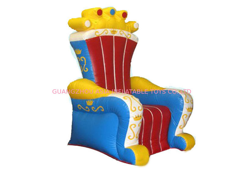 Ce Certificated Inflatable King Chair Sofa Furniture For Rental تامین کننده