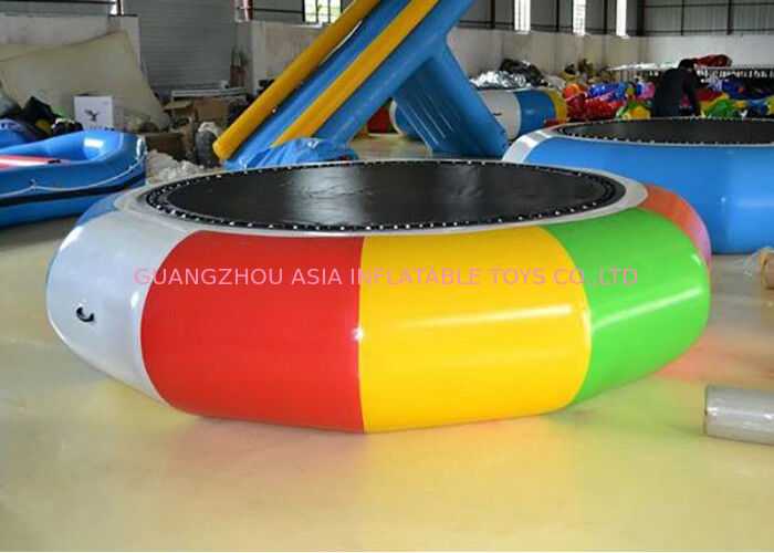 Cheap Water Trampoline Inflatable Water Games , Water Trampoline Manufacturer تامین کننده