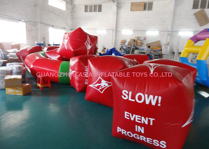 Water Triathlons Advertising Inflatable Promoting Buoy For Ocean Or Lake تامین کننده
