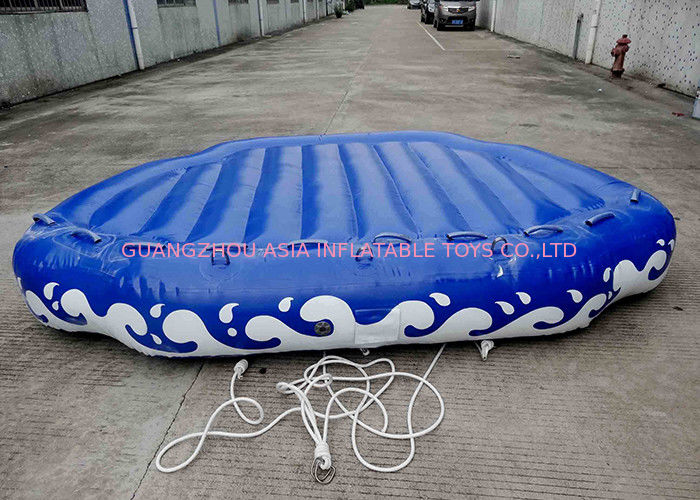 4 Passangers Inflatable Water Ski Tubes Towable Water Surfboard Platform For Beach تامین کننده