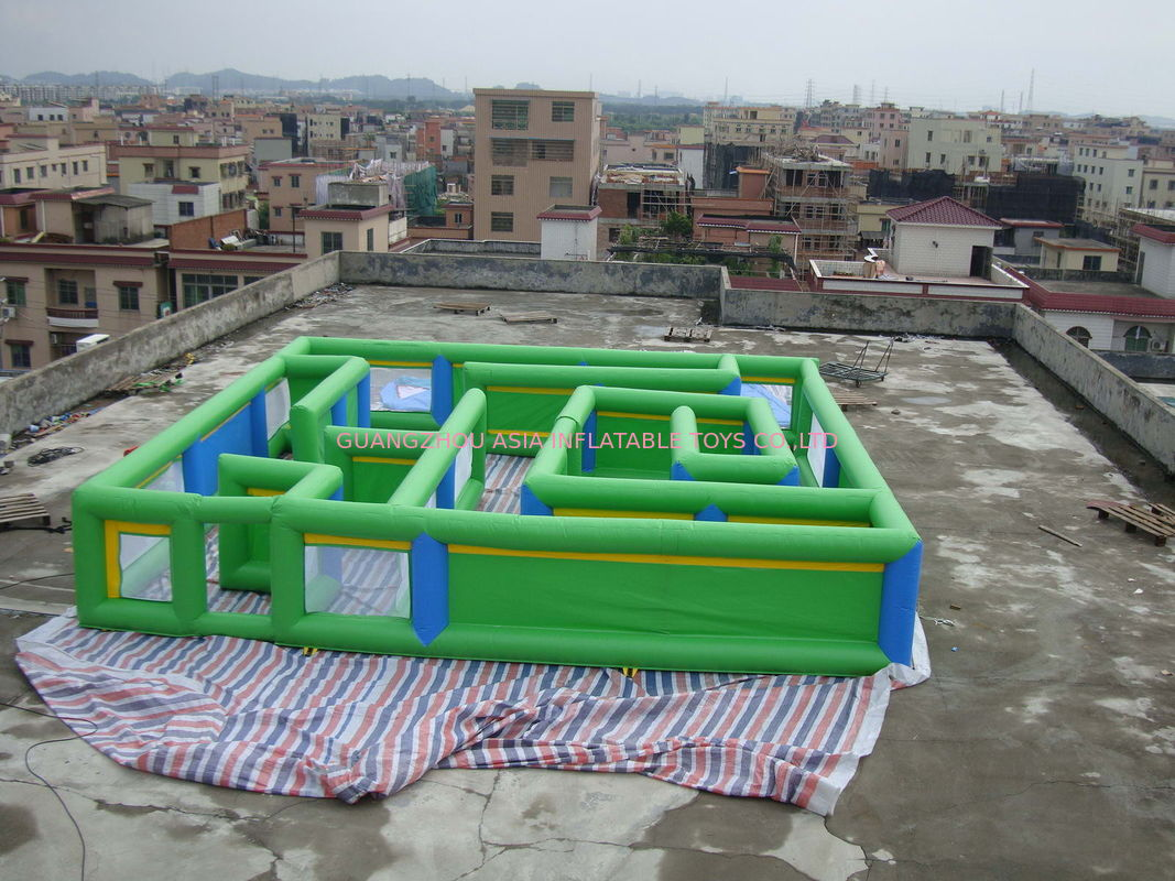Commercial Grade Inflatable Maze Games For Children And Adults تامین کننده