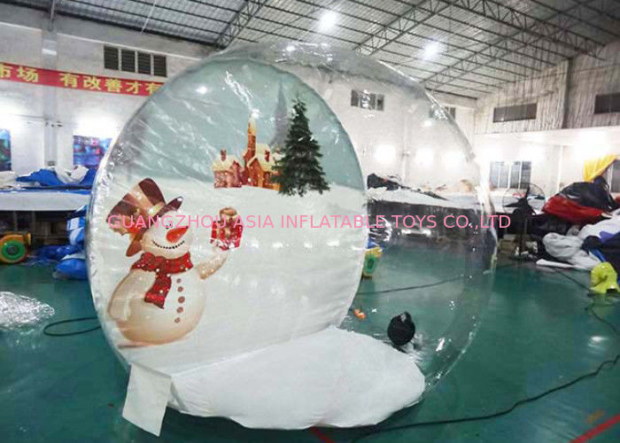 Customize TPU Inflatable Bubble House for Show تامین کننده