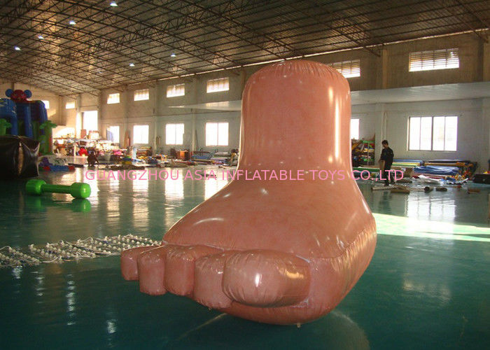 Cartoon Advertising Inflatables Human Body Feet Balloon , Models Character