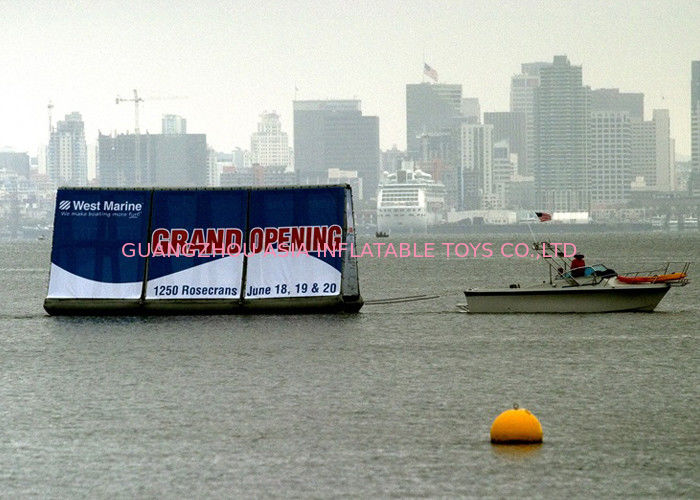 Crazy Event Advertising Inflatables Billboard /  Inflatable Floating Billboard تامین کننده