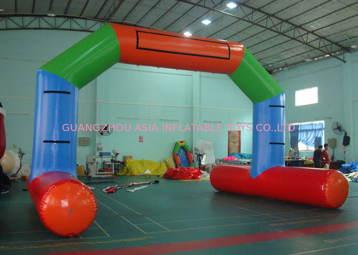 Inflatable Airtight Water Floating Stand Arch For Advertising Promotion Or Game تامین کننده