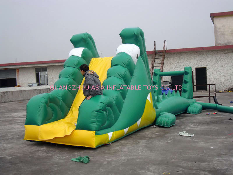 Aqua Floating Water Sports, Inflatable Crocodile Water Obstacle Course تامین کننده