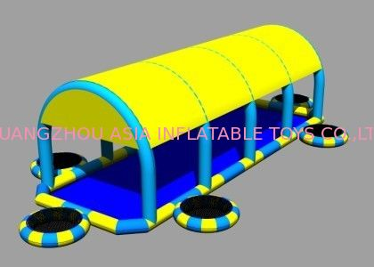 2014 New Design Kids Inflatable Pool with Suncover Roof تامین کننده