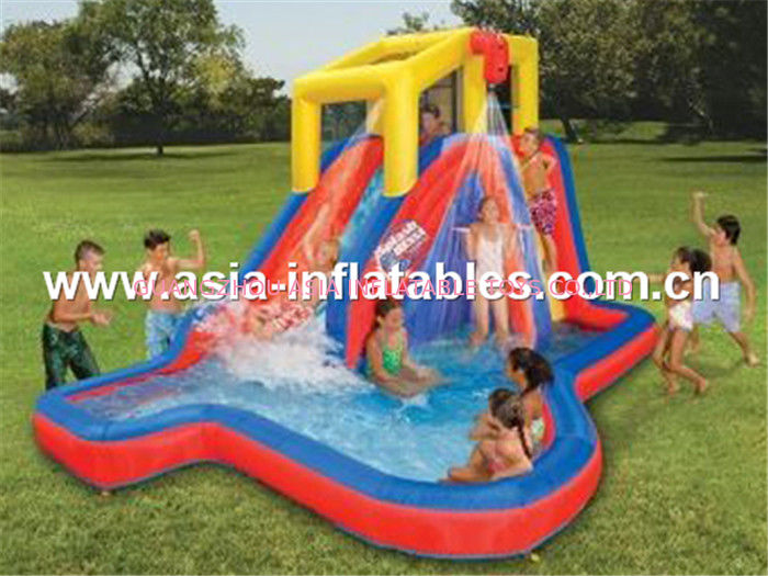 Inflatable water slide for kids تامین کننده