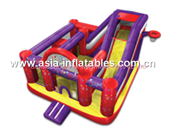 2014 new design cheap inflatable slide,china inflatable combo تامین کننده