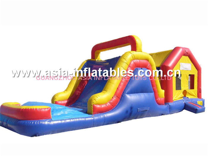 Double Slide Inflatable Combo,Inflatable slide For Sale تامین کننده