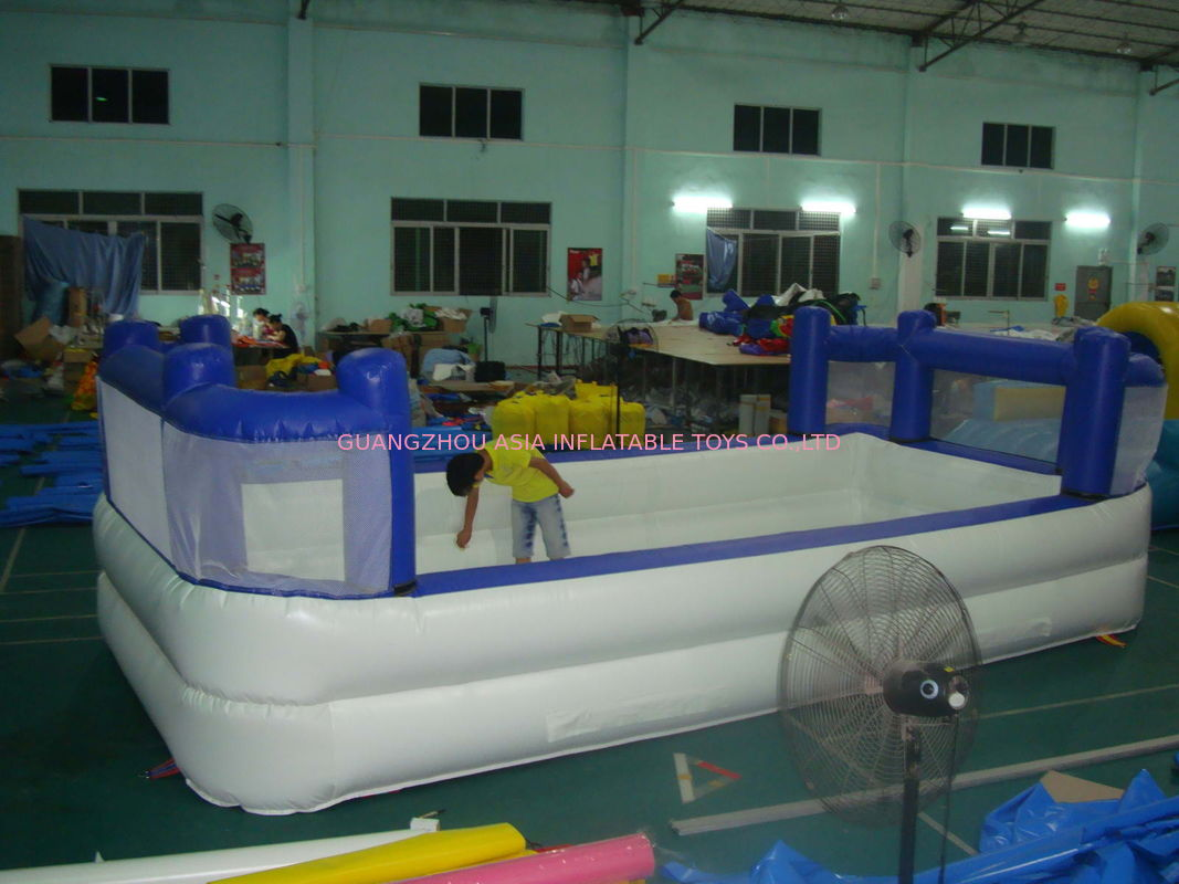 White Colour Kids Inflatable Pool with Back Walls تامین کننده