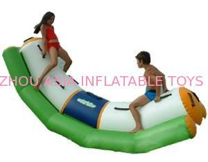 Single Inflatable Water Totter / Inflatable Water Sports For Children