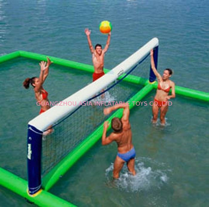 Inflatable aqua park Sports, Inflatable Water Volleyball field تامین کننده