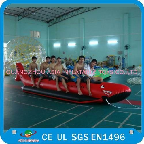 Inflatable Single Tube Banana Boat, Inflatable Water Sports Boat تامین کننده