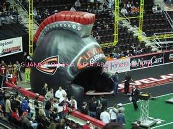 Helmet Tunnels, Inflatable Tunnel Entrance For Sports Event Decoration تامین کننده