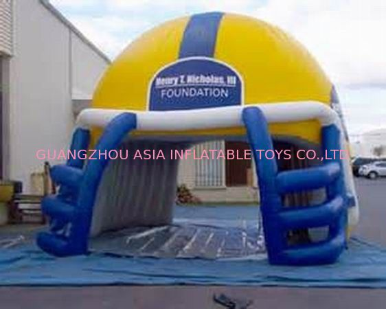 NFL Helmet Entrance, Inflatable Sports Event Decoration Entrance تامین کننده