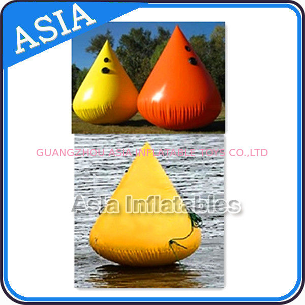 Inflatable Paintball Bunker Inflatable Buoys 0.90mm PVC Tarpaulin تامین کننده