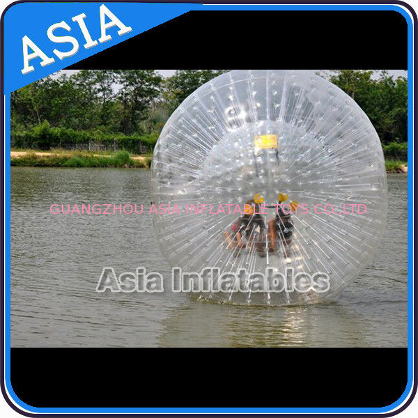 TPU or PVC Human Zorb Ball , Water Walking Zorb , Inflatable Ball Toys تامین کننده