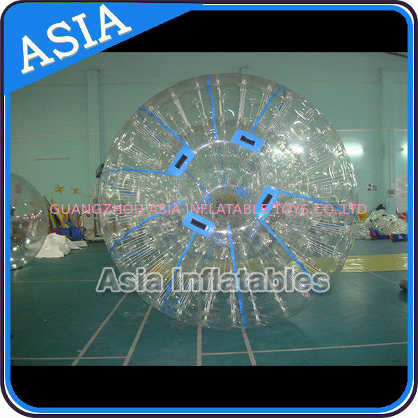 Outdoor Commercial Grade Inflatable Grass Zorb Ball , Inflatable Zorb Ball تامین کننده