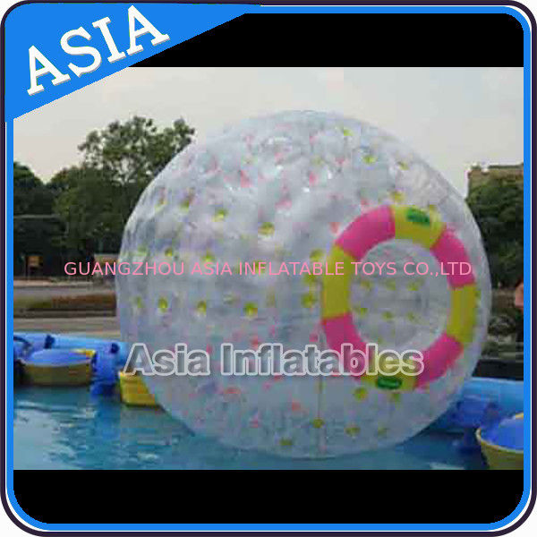 Clear PVC / TPU Inflatable Zorb Ball with 3m Outer Diameter For Adults تامین کننده