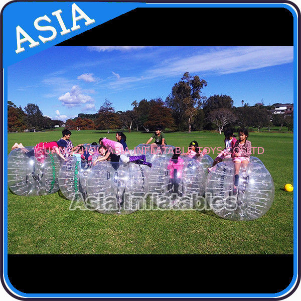 Custom 1.8m  Inflatable Body Bumper Ball For Adult Sports Games تامین کننده