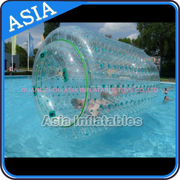 Inflatable Aqua Roller Games For Outdoor Summer Water Entertainment تامین کننده