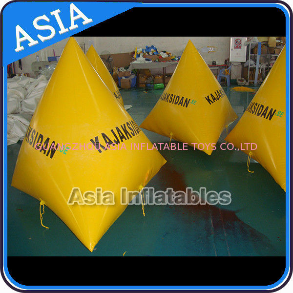 Ocean Or Lake Advertising Inflatable Water Safety Buoy For Sale تامین کننده